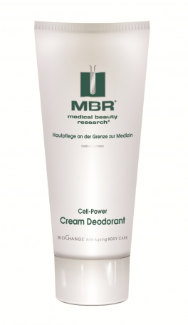 MBR ⋅ Medical Beauty Research ⋅ BioChange-BodyCare​ ⋅ Cell-Power Cream Deodorant