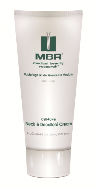 MBR ⋅ Medical Beauty Research ⋅ BioChange-BodyCare​ ⋅ Cell-Power Neck & Decolleté Cream